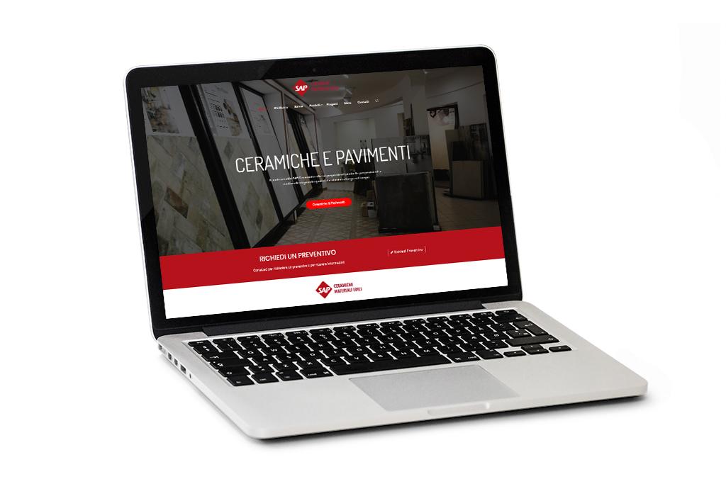 graphic design user experience sito web arredo casa