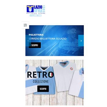 sito mobile negozio abbigliamento sportivo
