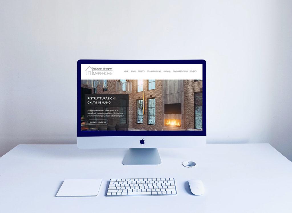 sito per impresa edile